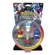 Pokémon Diamond & Pearl: Collectors figurines 3 + 1