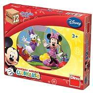 Dino Dřevěné puzzle Mickey Mouse - Puzzle
