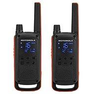 Motorola TLKR T82, oranžová/černá - Vysílačka