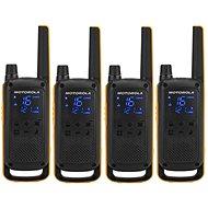 Motorola TLKR T82 Extreme, Quadpack, žlutá/černá - Vysílačka