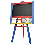 The Drawing Board Stand with counter and clock color