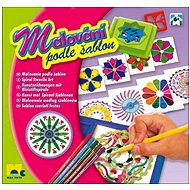 Paint spirals with templates