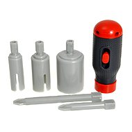 Real construction Mounting Kit Screwdrivers and cutter