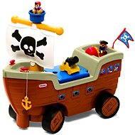 Little Tikes Odrážedlo - Pirátská loď - Dětské odrážedlo
