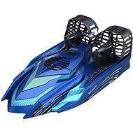 Hovercraft (amphibian) blue