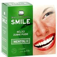 White Pearl Smile bieliaci púder Mentol + 30 g