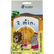 Miradent Sanduhr zur Messung der Zeit ihre Zähne putzen