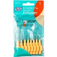 TEPE Extra Soft 0,45 mm oranžový 8 ks - Mezizubní kartáčky