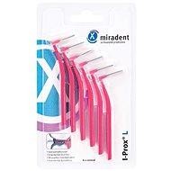 MIRADENT I-Prox L 0,4 mm růžové (6 ks) - Mezizubní kartáčky