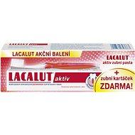 LACALUT Aktiv 75ml + kartáček na zuby - Zubní pasta