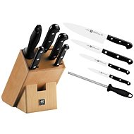 Gourmet Zwilling knife block with 6 pieces