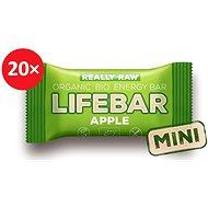 Lifefood Lifebar tyčinka jablečná RAW BIO 25 g – 20 ks - RAW tyčinka BIO