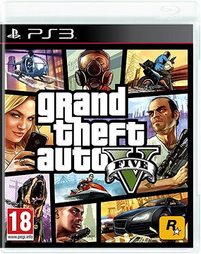 PS3 - Grand Theft Auto V (GTA 5)