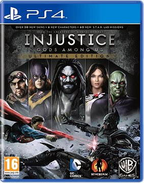 Injustice: Gods Among Us Ultimate Edition GOTS - PS4