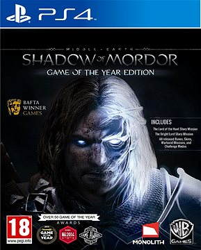 Middle Earth: Shadow of Mordor Game of the Year Edition - PS4