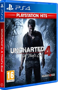Uncharted 4: A Thief´s End - PS4