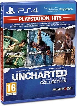 PS4 - Uncharted: Nathan Drake Die Sammlung