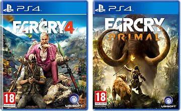 Far Cry Primal CZ + Far Cry 4 - PS4