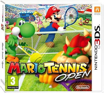 Nintendo 3DS - 3D-Mario Tennis Open