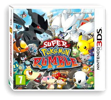 Nintendo 3DS - Super Pokemon Rumble