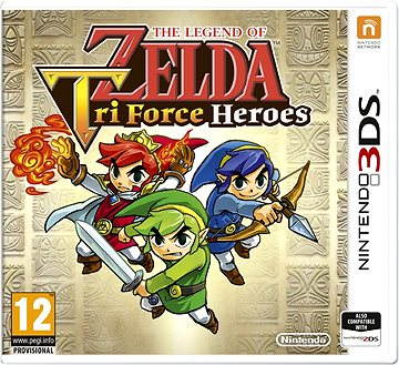 Nintendo 3DS - The Legend of Zelda: Tri Force-Helden