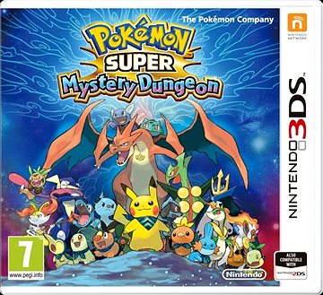 Super Pokémon Mystery Dungeon - Nintendo 3DS