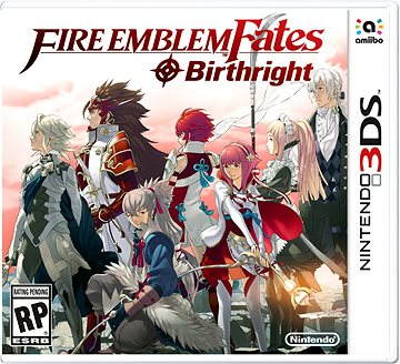 Nintendo 3DS - Fire Emblem Fates: Birthright