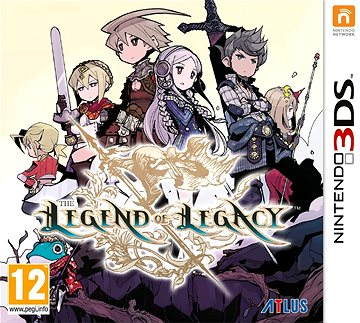 Legend Legacy - Nintendo 3DS