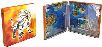Pokémon Sun Steelbook Edition - Nintendo 3DS