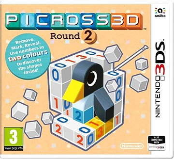 Picross 3D Round 2 - Nintendo 3DS