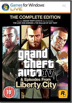Grand Theft Auto IV Complete Pack