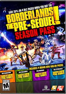 Borderlands The Pre-Sequel Season Pass