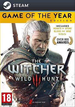 Zaklínač 3: Divoký hon - edice Hra roku DIGITAL