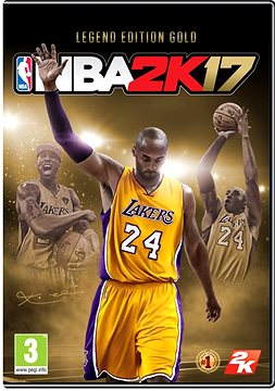 NBA 2K17 Legend Edition Gold DIGITAL