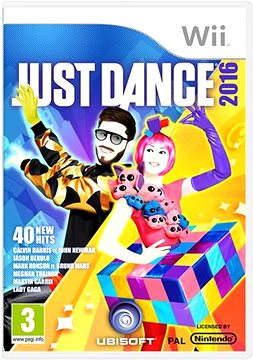 Nintendo Wii - Just Dance 2016