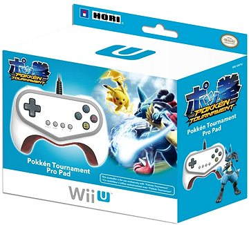 Pokken Tournament Pro Pad Nintendo Wii U