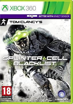 Xbox 360 - Tom Clancy's: Splinter Cell: Blacklist CZ