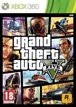 Xbox 360 - Grand Theft Auto V (GTA 5)