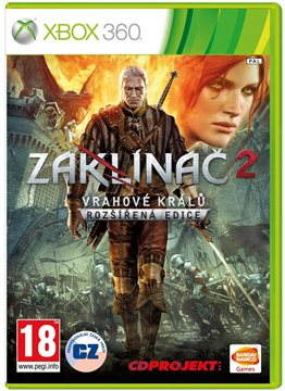 Xbox 360 - The Witcher 2: Assassins of Kings CZ