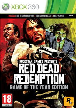Xbox 360 - Red Dead Redemption (Game Of The Year)