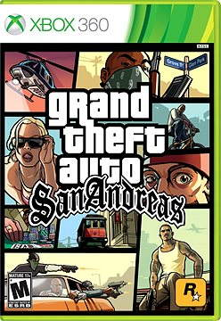 Xbox 360 - Grand Theft Auto San Andreas