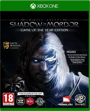 Middle Erde Shadow Of Mordor Game of The Year Edition - Xbox One