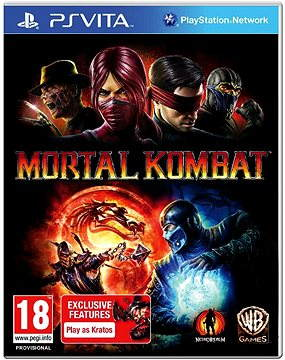 PS Vita - Mortal Kombat Ultra