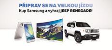 Súťažte so Samsungom o Jeep Renegade