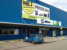 Showroom Praha 9 Horní Počernice