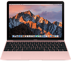 MacBook 12 Rose Gold 2016