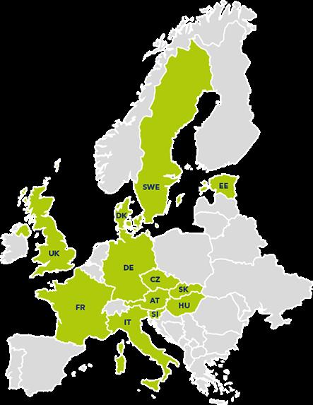 evropské státy využívající studentský program na Alza.cz