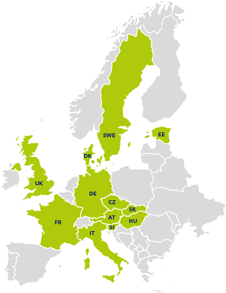 European states using the student program at Alza.cz