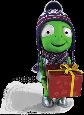 Alzák s dárkem