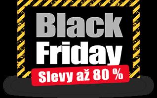 Black Friday - Slevy až 80 %